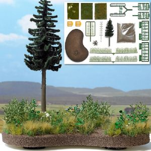 1259 'Pure Nature' Learning Diorama set with base